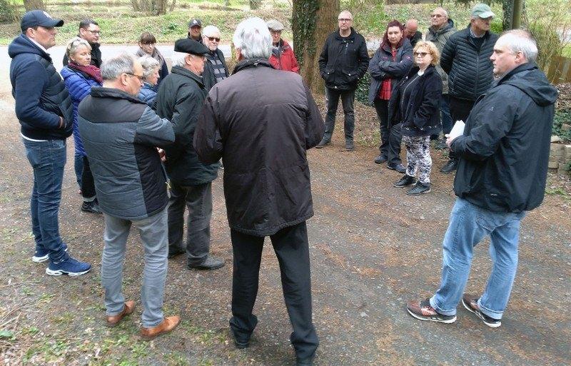 FBL Remagen hatte zu einem informativen Rundgang in den Ortsteil Unkelbach eingeladen