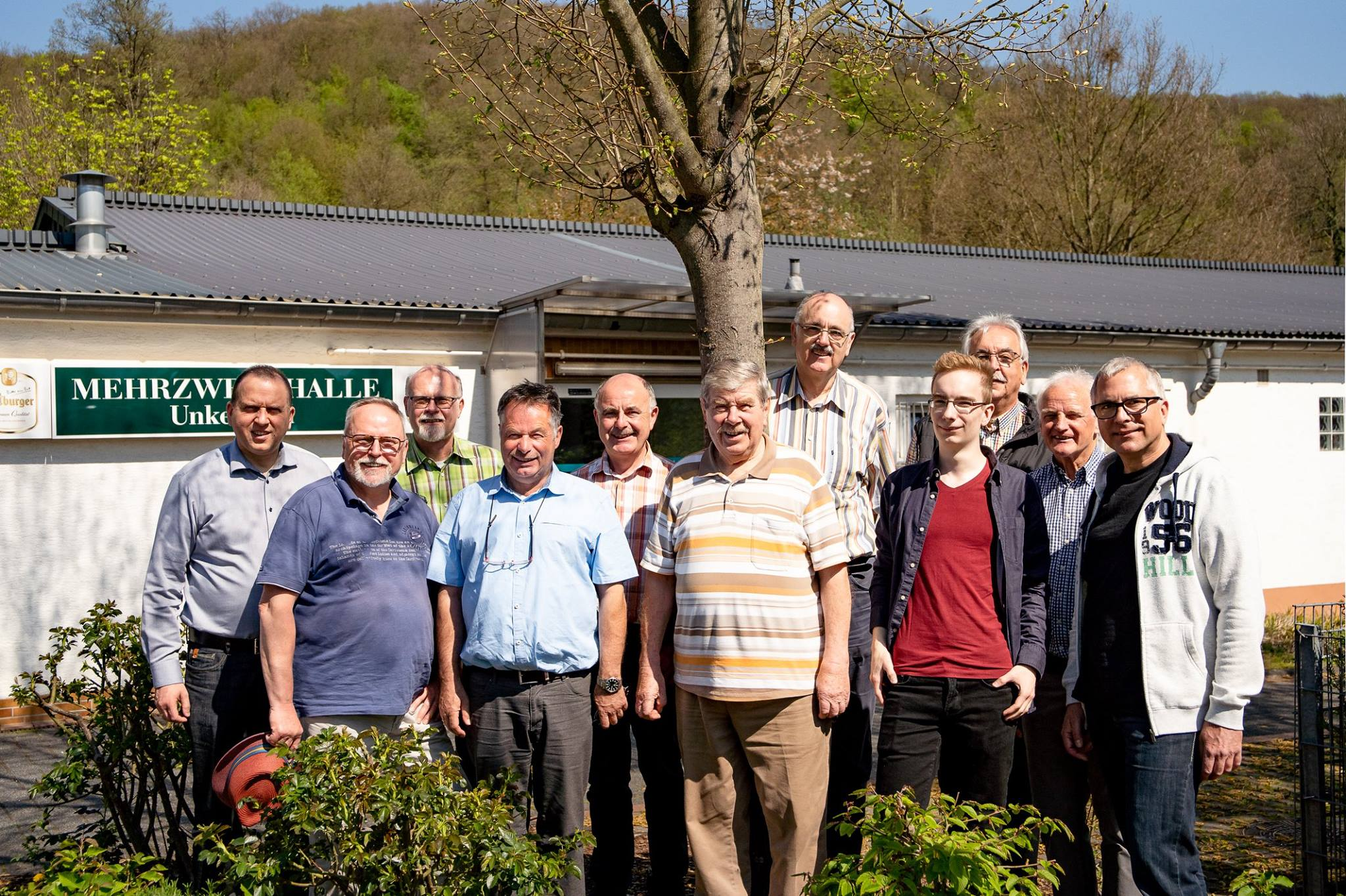 Kreis-FWG besucht Unkelbach – FBL-Kandidaten berichten über Maßnahmen gegen den Klimawandel