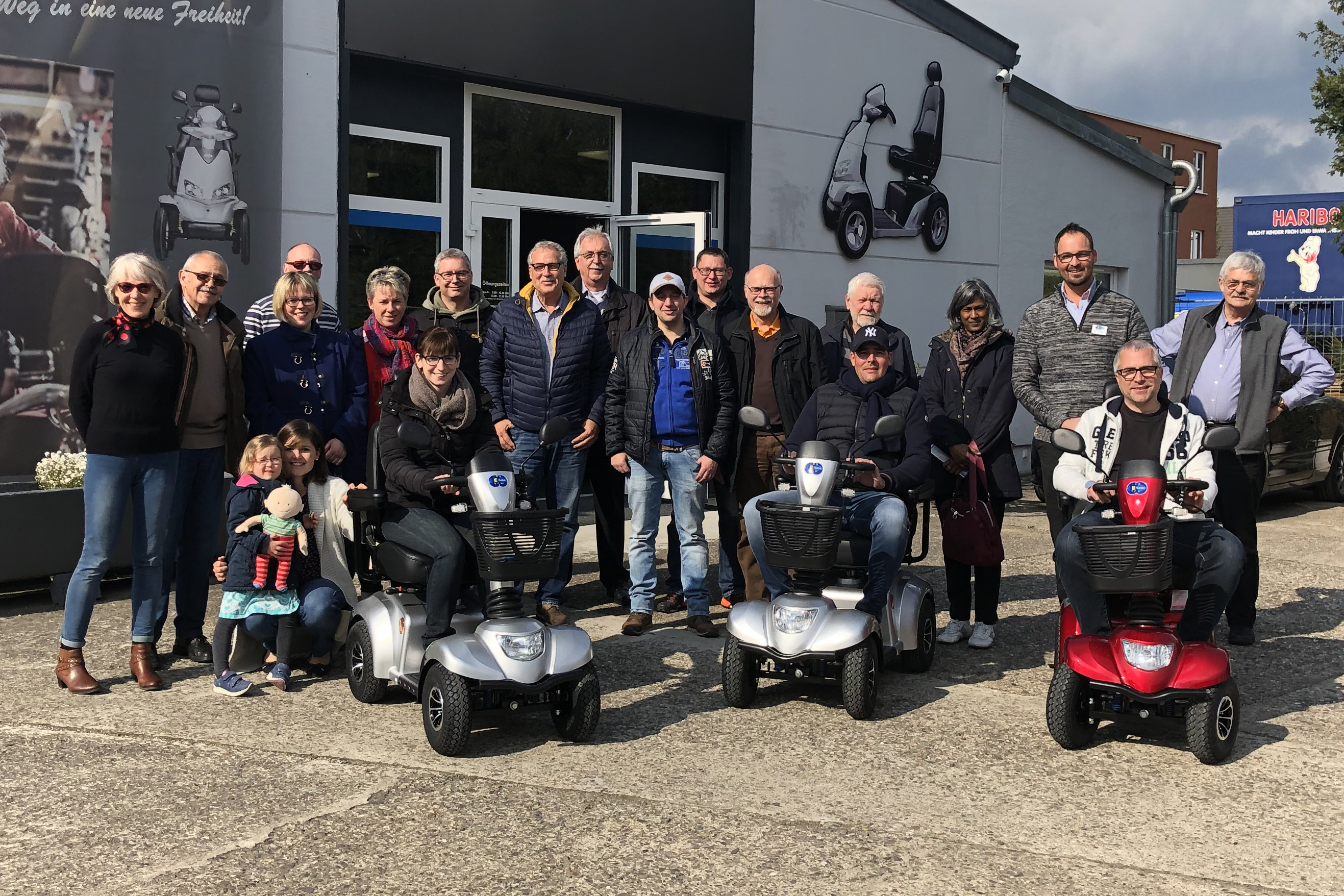 FBL Remagen besuchte E-Lobil Elektrofahrzeuge in Remagen-Kripp