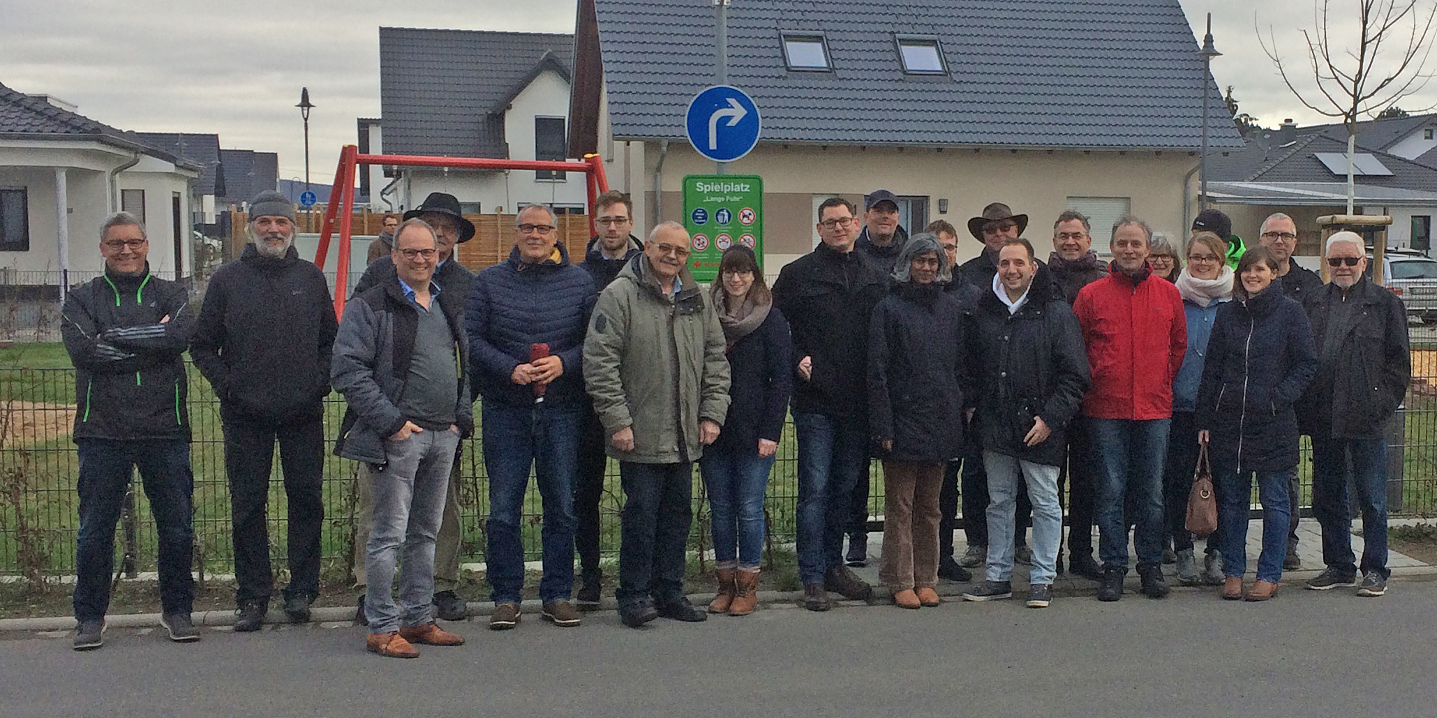 FBL Ortsbesichtigung in Kripp:  Konstruktiver Gedankenaustausch mit Kripper Bürgern