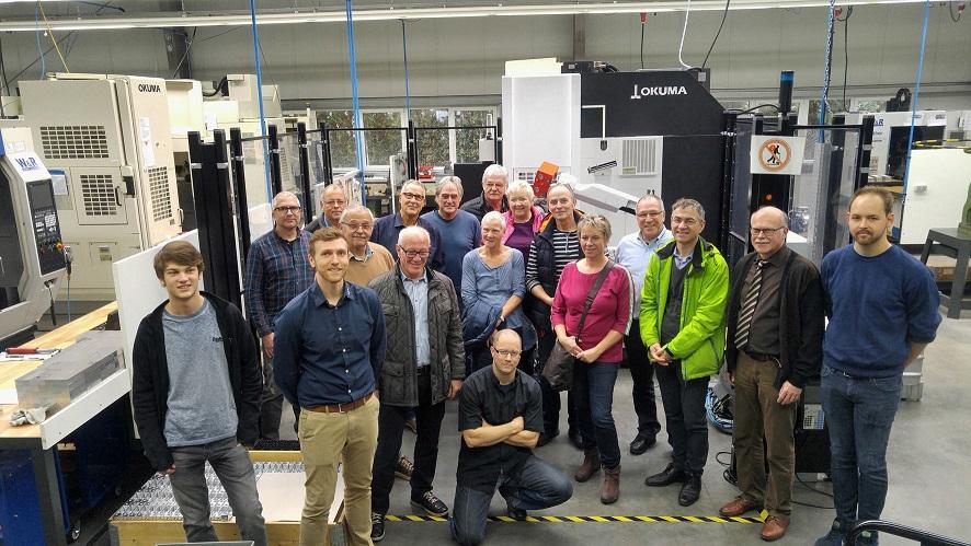 FBL Remagen besuchte R & W Maschinenbau GmbH im Gewerbepark Remagen